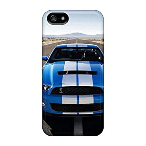 Pretty AwF28337OIox Iphone 5/5s Cases Covers/ Ford Mustang Gt 500 Series High Quality Cases