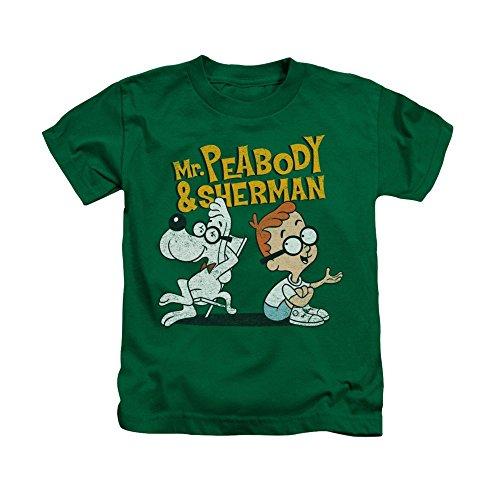 Sons of Gotham Mr Peabody & Sherman Deep Conversation Kids T-shirt 7 (The Art Of Mr Peabody And Sherman)