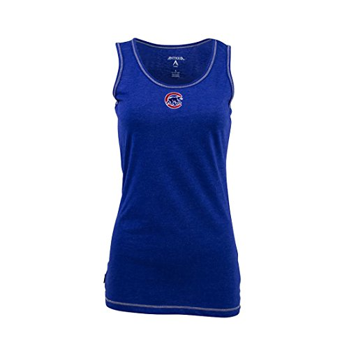 Chicago Cubs Shirt Tank Top Women's Antigua - Medium