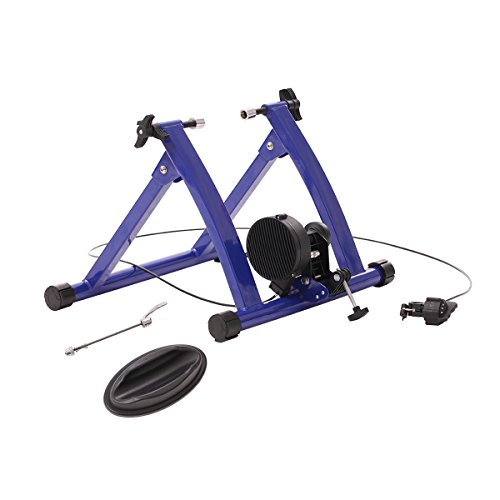 URSTAR Magnet Steel Bike Bicycle Indoor Exercise Trainer Stand in Blue