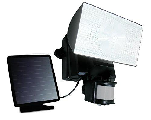 -MAXSA Innovations 50 LED Solar-Power Light - Black by Maxsa Innovations