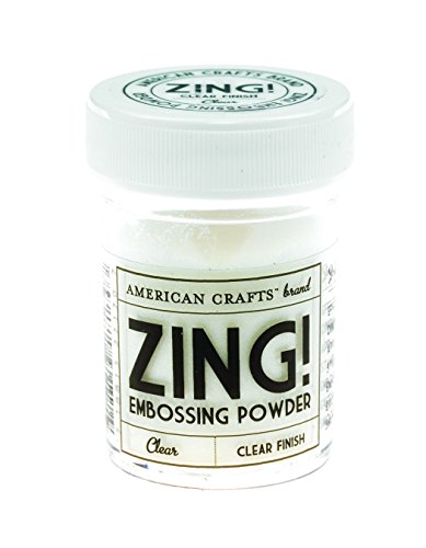 (American Crafts Zing! Clear Embossing Powder 1-Ounce)