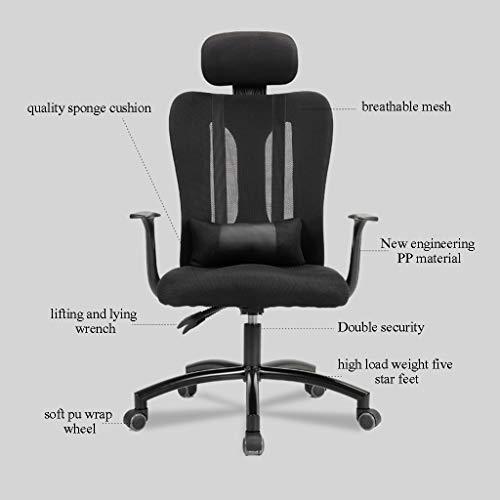 Kontorsstol lounge stol lyft roterande andningsbar nätmottagning fritid konferensrum kontor