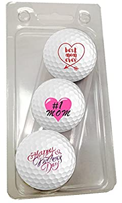 Mothers Day Golf Balls 3 Pack