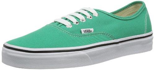 Vans U Authentic - Baskets Mode Mixte Adulte - Vert (Emerald/True White) - 42.5 EU