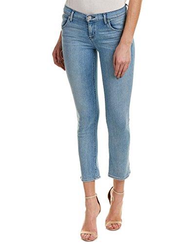 Hudson Jeans Women's Bailee Midrise Crop Baby Boot Flap Pocket Jean, Tidal, (Hudson Back Flap)