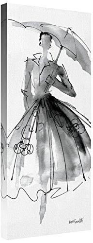 Global Gallery Anne Tavoletti 'Fashion Sketchbook VI' Giclee Stretched Canvas Artwork 12 x 30