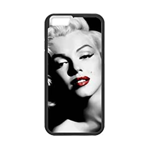 iPhone 6 4.7 Inch Cell Phone Case Black Marilyn Monroe T4503164