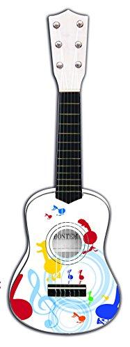 Bontempi - 225511 - Guitare En Bois - 55 Cm - Multicolore
