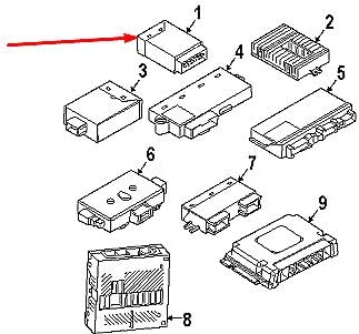 GTV INVESTMENT 5 E60 MPM m/ódulo de control de potencia ECU 61359266274 9266274