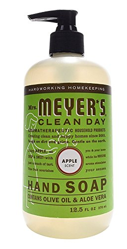 Mrs. Meyers Clean Day Hand Soap, Apple, 12.5 fl oz, 6 Bottles by Mrs. Meyer's Clean Day