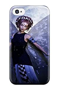 Durable Fairy Back Case/cover For Iphone 4/4s Sending Screen Protector in Free
