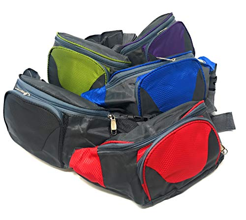 Sea View Treasures Bulk 5 Piece Travel Hiking Fanny Pack Assortment]()