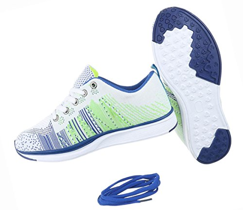 Schwarz Schuhe Sneakers Freizeitschuhe Multi Sportschuhe Damen Weiß Turnschuhe CdOqF8nwFX