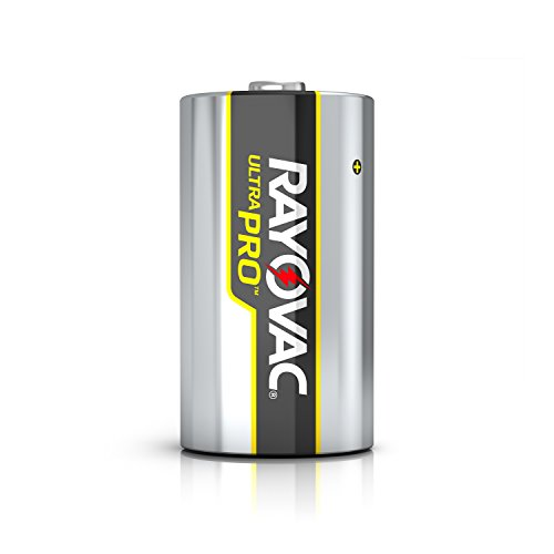 Rayovac D Batteries, Ultra Pro Alkaline D Cell Batteries (6 Battery Count)