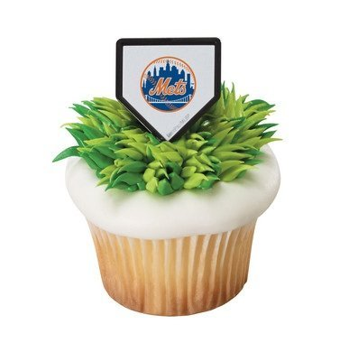 - MLB New York Mets Cupcake Rings - 24 ct