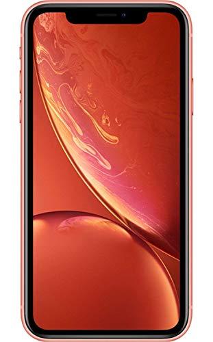 Apple iPhone XR, 128GB, Coral - Fully Unlocked (Renewed)