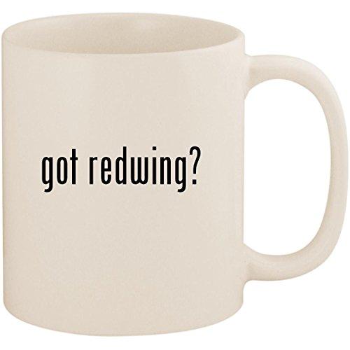 got redwing? - 11oz Ceramic White Coffee Mug Cup, White