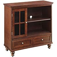 Convenience Concepts Designs2Go Tahoe Highboy TV Stand, Brown