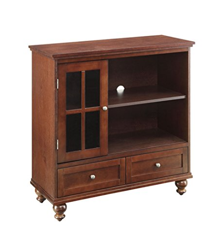 Convenience Concepts Designs2Go Tahoe Highboy TV Stand, Espresso ()