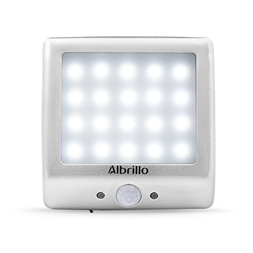 Albrillo Rechargeable Motion Senor Night Light Wall Sconce Battery Operated  Lights For Closet Cabinet Hallway Baby Kids ...