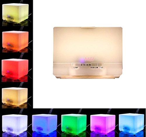 Aromatherapy Essential Oil Diffuser, Prisky Ultrasonic Co...