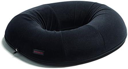 Togu Airgo Sitzring mit Bezug, schwarz