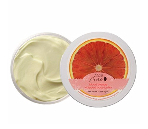 Organic Whipped Body Butter by 100% Pure, 3.4 oz