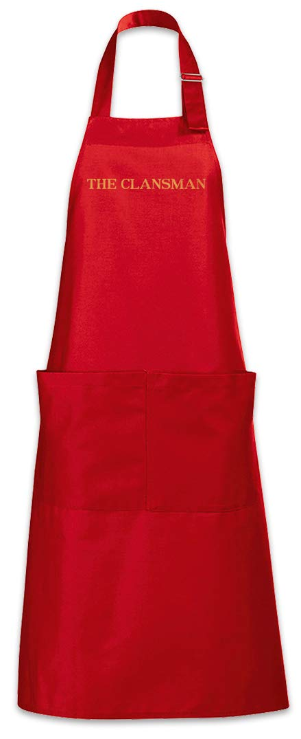 Urban Backwoods The Clansman Barbecue BBQ Kitchen Cooking Apron