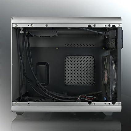 Mini-Tower, PC, Aluminio, SPCC, Mini-ITX, Negro, 1,5 mm RAIJINTEK Metis Plus Mini-Tower Negro Carcasa de Ordenador Caja de Ordenador