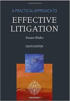 A Practical Approach to Effective Litigation 8/e (2015-05-05)