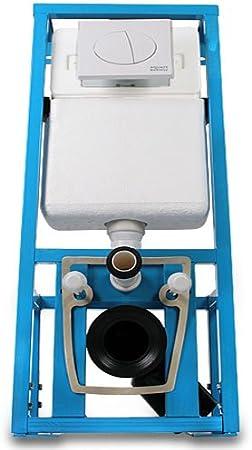 Aquamarin - Cisterna empotrada para inodoro: Amazon.es: Bricolaje y herramientas