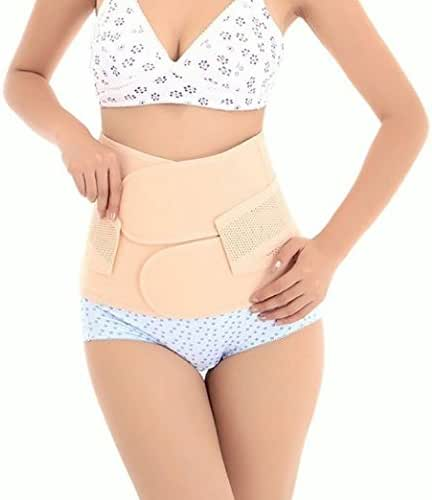 Healthcom Waist Slimming Belt Shaper Wrapper Band Abdomen Abdominal Binder Women Postnatal Pregnancy Belt-Support Postpartum Recoery Support Girdle Belt Belly(Size:S)