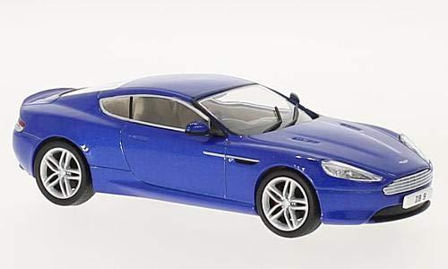 Db9 Coupe Martin Aston (Aston Martin DB9 Coupe, metallic-blue, RHD, 0, Model Car,, Oxford 1:43)