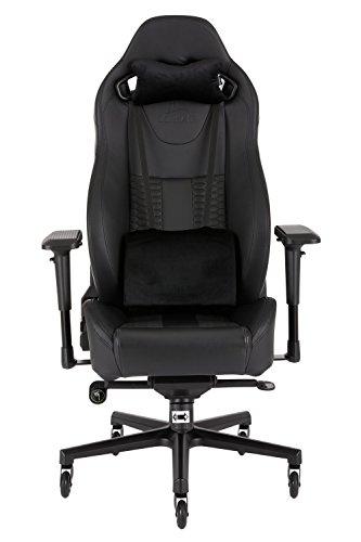 Corsair CF-9010006 WW T2 Road Warrior Gaming Chair Comfort Design, Black