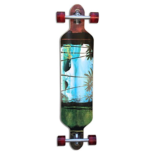 (Gravity Longboard Complete South Pacific Carve 9.37