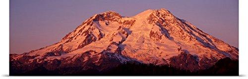 Great Big Canvas Poster Print entitled Mt Rainier Mt Rainier National Park Wa