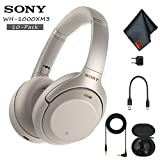 Sony WH-1000XM3 Wireless Noise-Canceling Over-Ear Headphones (Silver) - Includes - 10 Pack