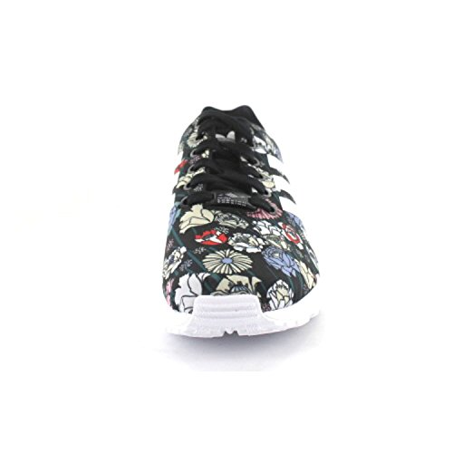 Adidas Originals Dames Zx Flux Trainers Us10 Zwart