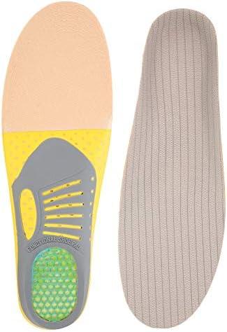Schuheinlagen, hoher Fußgewölbe Orthetische Mitteldicke und Einlagen für Plantarfasziitis an der Ferse Schmerzlinderung