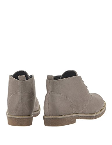 LOUVEL Women's Casual Boots Grey IYoHevom