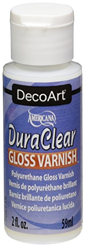 Gloss Varnish - DecoArt Americana DuraClear Varnishes, 2-Ounce, Gloss