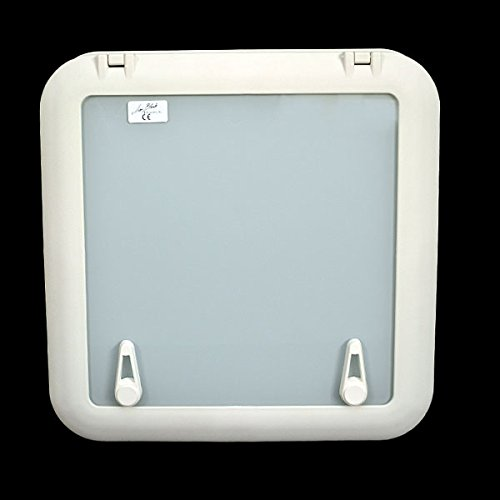 Jim Black Boat Escape Hatch 592-1616-04-01-04 | 16 x 16 Arctic White