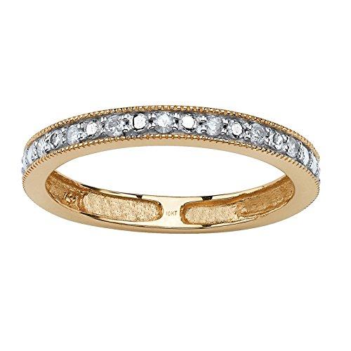 Wedding Band Oxford: Oxford Diamond Co Round Brilliant Cut Cubic Zirconia