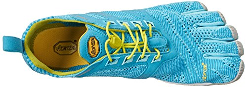 Evo Yellow Chaussures Grey Outdoor Multicolore Light Vibram Multisport Femme Bleu Blue KMD FiveFingers aTwnBE