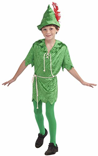 Forum Novelties Peter Pan Costume, Child's (Mens Tinkerbell Costume)