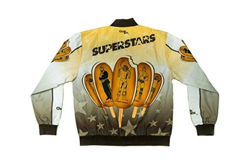 Extreme Xxl Bars - WWE Superstars Legends Ice Cream Bar WWE Fanimation Chalkline Jacket-XXL