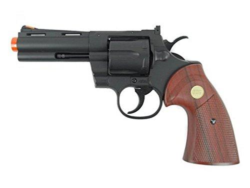 tsd/uhc 138 gas revolver 4 inch barrel green gas power(Airsoft Gun)