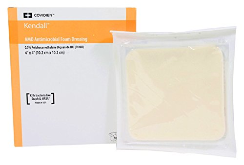 Covidien 55544AMD Antimicrobial Foam Dressing 4