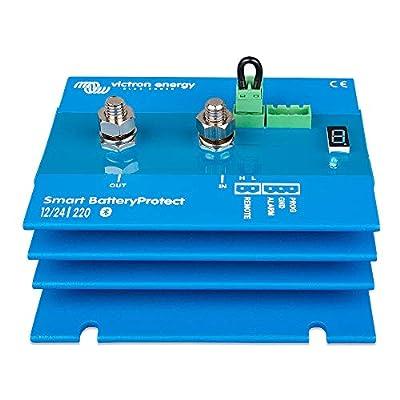 Victron Smart BatteryProtect - 220AMP - 6-35 VDC - Bluetooth C. [BPR122022000]: Electronics